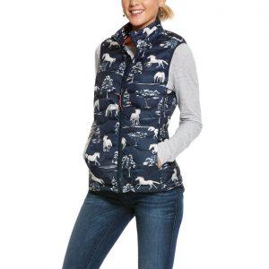 Ariat Ladies Ideal 3.0 Down Vest – Shadow Pasture