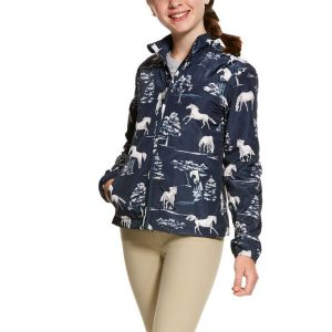 Ariat Kids Laurel Insulated Jacket – Shadow Pasture Print