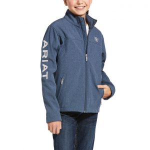Ariat Kids New Team Softshell – Lake Life Heather