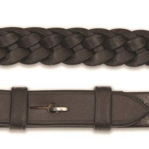 Reins – Plaited Leather