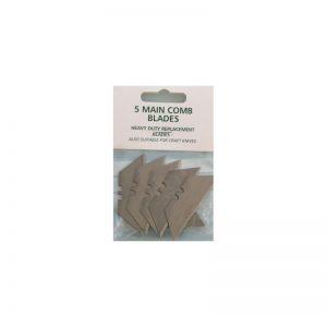 CM Equine Mane Comb Blades (Pack of 5)