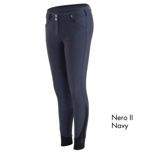 Ladies Tredstep Symphony Nero II Knee Patch Breech