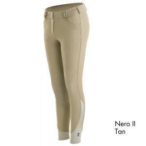 Ladies Tredstep Symphony Nero II Knee Patch Breech