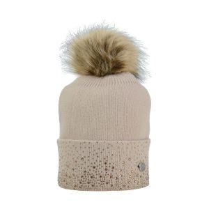 HyFASHION Alaska Diamante Bobble Hat