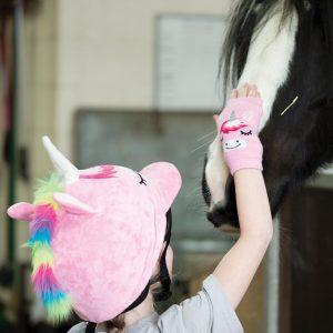 Equetech Childs Unicorn Hat Silk