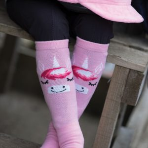 Equetech Unicorn Long Riding Socks