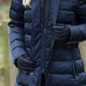 Equetech Ladies Alpha Long Padded Coat