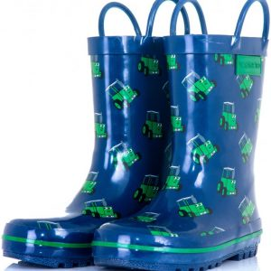 Tractor Ted Childrens Welly Boots – Navy