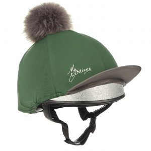 LeMieux Pom Pom Hat Silk – Hunter Green