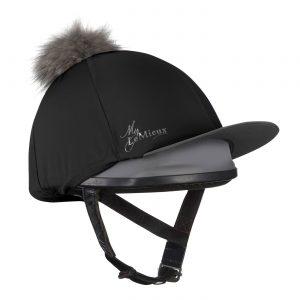 LeMieux Pom Pom Hat Silk – Black
