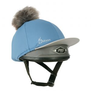 LeMieux Pom Pom Hat Silk – Ice Blue