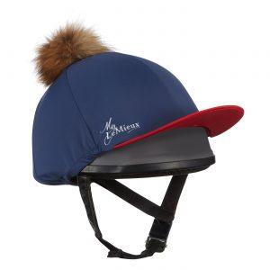 LeMieux Pom Pom Hat Silk – Navy