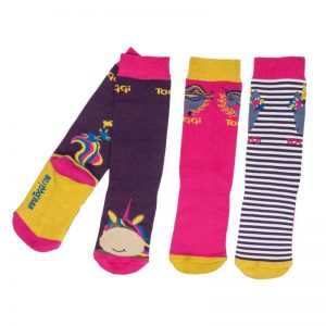 Toggi Aletha Kids Three Pack of Socks – Unicorn Design