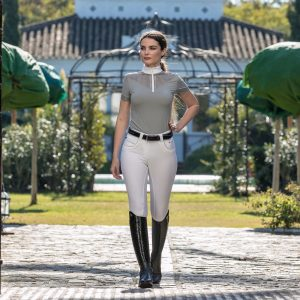 Ladies LeMieux Adrina Show Shirt – Grey
