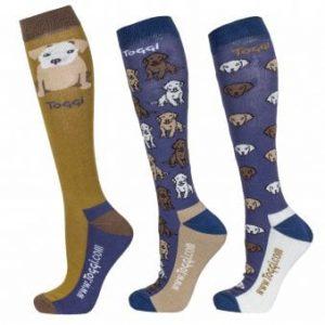 Toggi Malham Ladies Three Pack Socks – Mustard