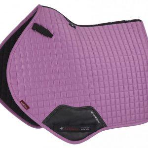 LeMieux ProSport Suede Close Contact Square – Lavender