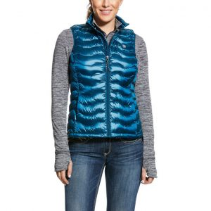 Ariat Ideal 3.0 Down Vest – Dream Teal
