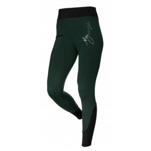 Ladies LeMieux Activewear Seamless Pull On Breech – Green