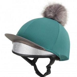 LeMieux Pom Pom Hat Silk – Peacock
