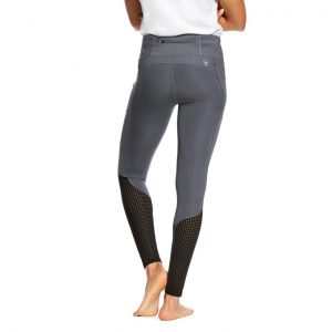 Ladies Ariat EOS Knee Patch Riding Tight – Grey