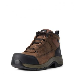 Mens Ariat Telluride Waterproof Composite Toe Work Boot
