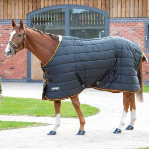 Shires Tempest 300 Stable Rug – Black/Orange