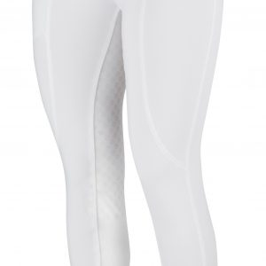 Childrens Dublin Performance Cool-It Gel Riding Tights – White