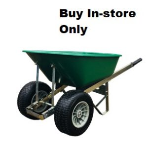 120 Litre Wheelbarrow with Twin Fatboy