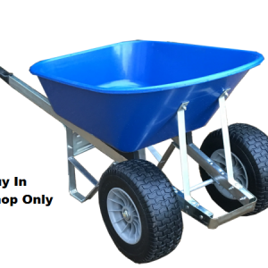 120 Litre Wheelbarrow with Twin Fatboy
