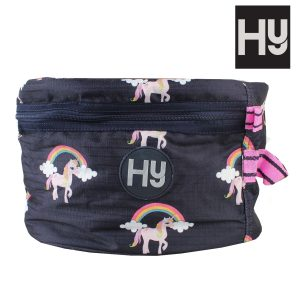 Hy Unicorn Hat Bag – Navy/Pink
