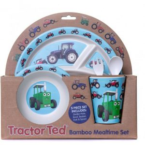 Tractor Ted Mealtime Gift Set With Cutlery