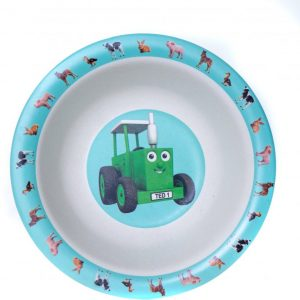 Tractor Ted Bamboo Bowl