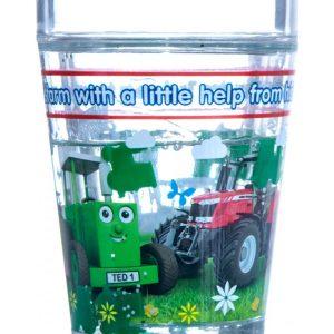 Tractor Ted Glitter Beaker
