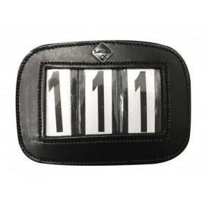 LeMieux Saddle Pad Number Holder Black