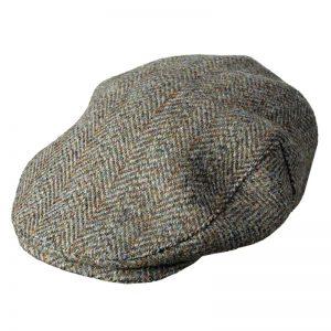 Hoggs Of Fife Harewood Lambswool Tweed Waterproof Cap