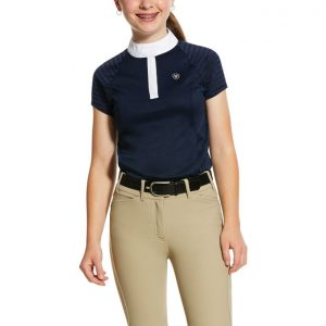 Childrens Ariat Aptos Vent Show Shirt – Navy