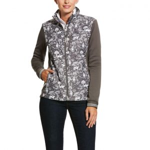 Ariat Ladies Hybrid Jacket – Plum Grey Toile