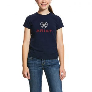 Ariat Kids HD Logo Tee