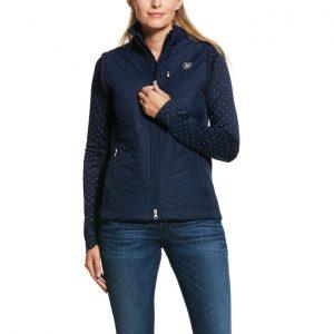 Ariat Ladies Hybrid Insulated Vest – Navy
