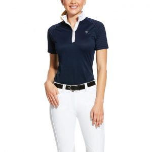 Ladies Ariat Aptos Vent Show Shirt – Navy