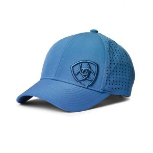 Ariat Adult Unisex Tri Factor Cap – Blue Heather
