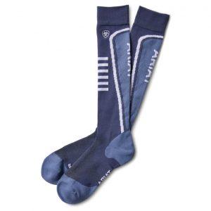 AriatTEK Slimline Performance Socks – Nightshadow/Blue Heather