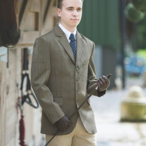 Boys Equetech Foxbury Tweed Jacket
