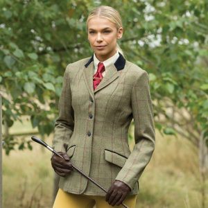 Ladies Equetech Launton Deluxe Tweed Riding Jackets