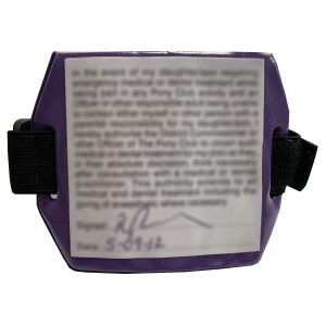 Equetech Childs Medical Riding Armband