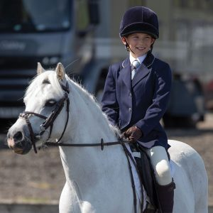 Childrens Equetech Jersey Deluxe Competition Jacket – Navy