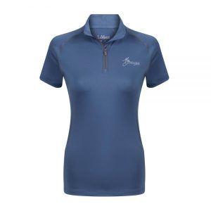 LeMieux Air-Tec UV Shirt – Ice Blue/Grey