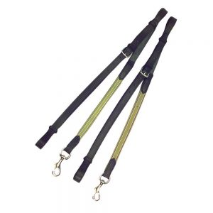 Kincade Leather/Elastic Side Reins