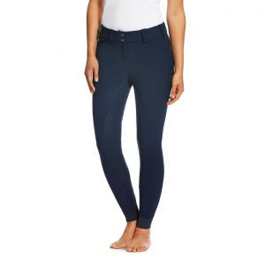 Ladies Ariat TRI Factor Grip Full Seat Breeches – Navy