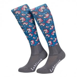LeMieux Junior Footsie Sock – Unicorn